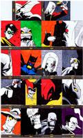 Batman: The Legend - Sketch Cards