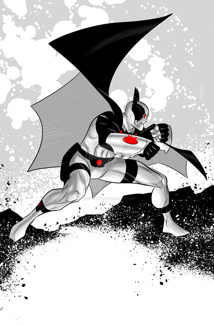 The Bat-Man of Apokolips by LeeFerguson