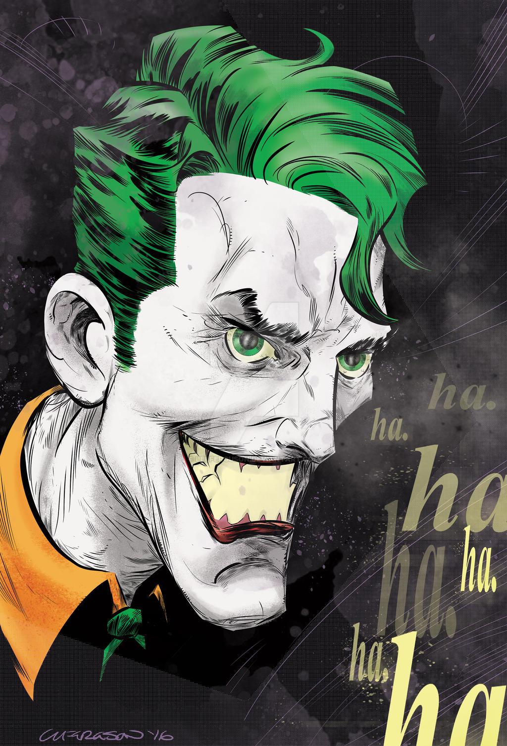 The Joker by LeeFerguson