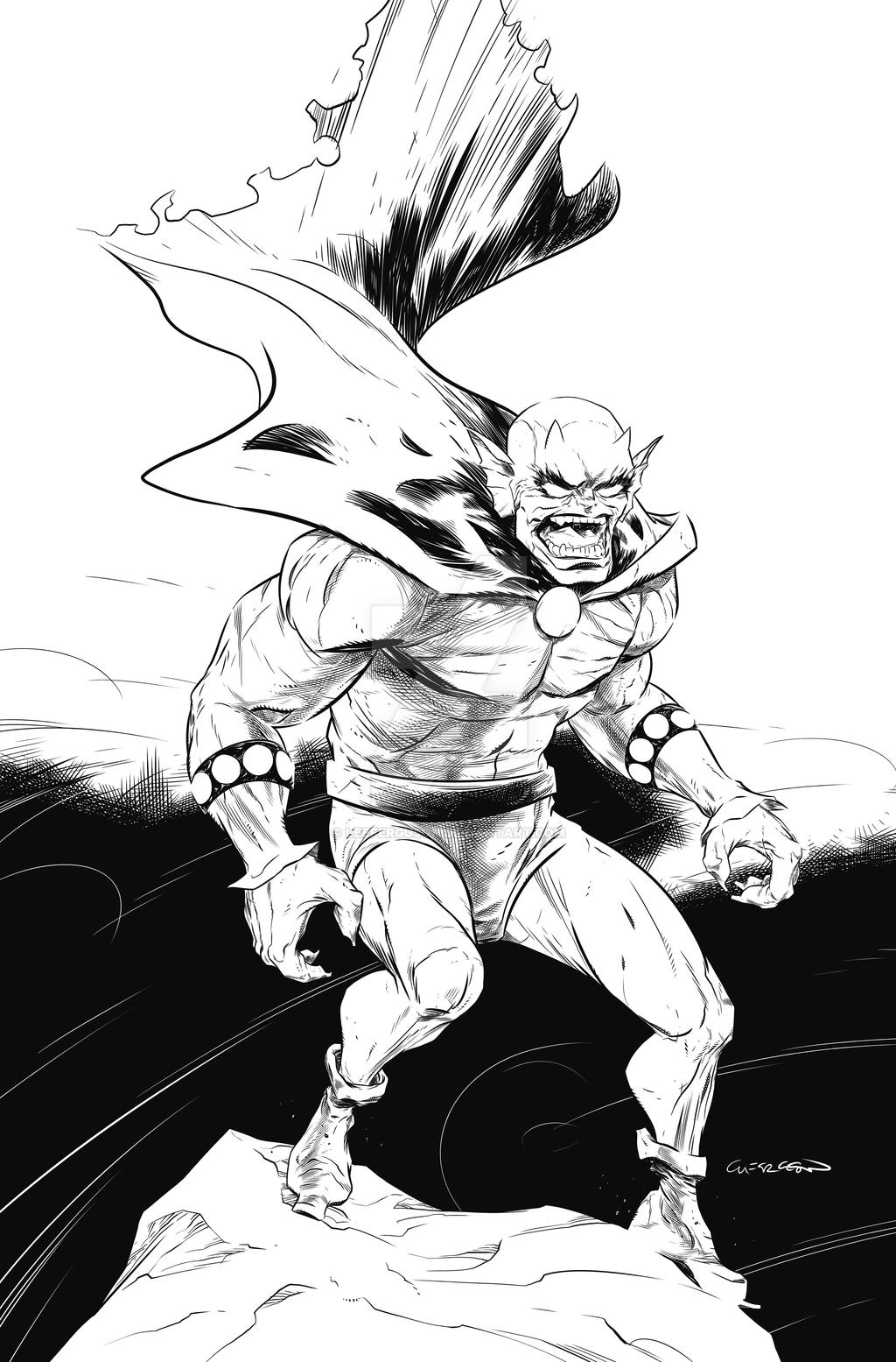 Etrigan, the Demon by LeeFerguson