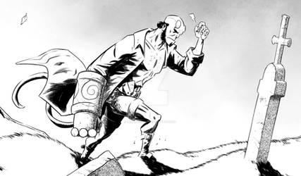 Hellboy ... detail