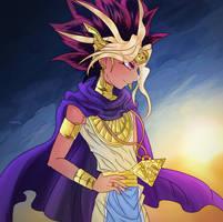 Pharaoh Atem by MrCuddlyfins