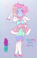 Creativity Aura Quartz - Fusion by MrCuddlyfins