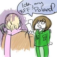 IDK, MY BFF POLAND by shaerein