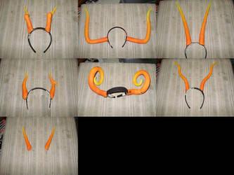 Cosplay Horns Closeup by arnikitty