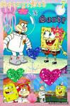 12DoVD Pairing Collage 7 - SpongeBob x Sandy