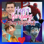 Tom Holland Tribute Collage by YoshiHorse