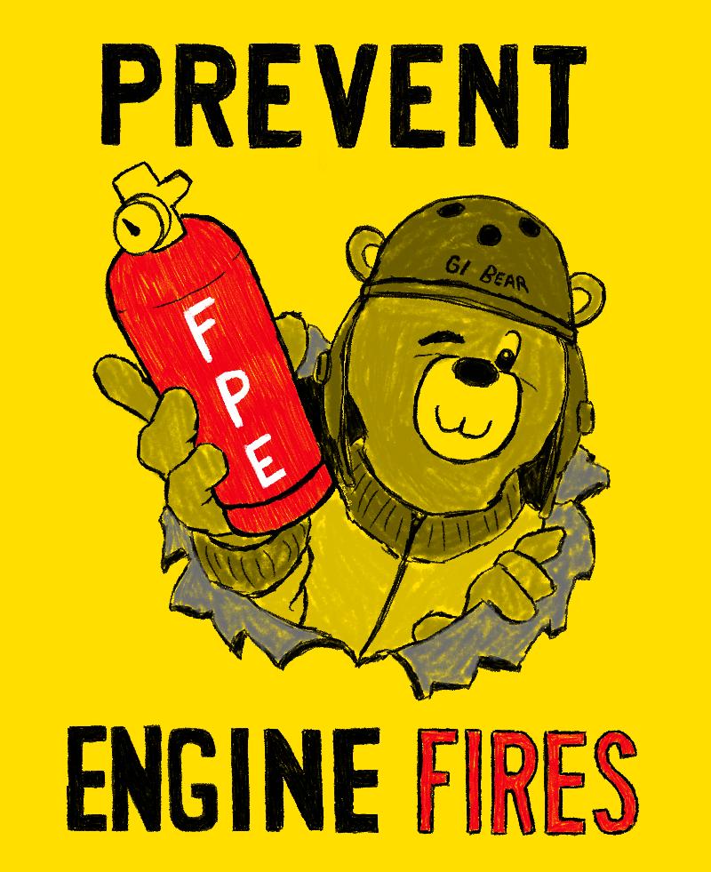 GI Bear - Fire Prevention (War Thunder contest) by KilroyLW