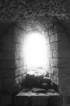Light through the window.
