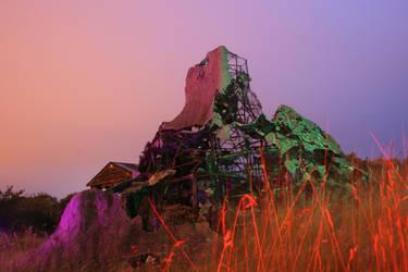 Marvels Volcano by Night