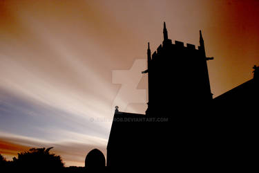 Willersey Church by Night