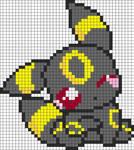 Umbreon pixel art