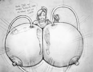 Bulma slightly larger by RockyGroecoq