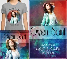 Gwen Saint Publicity Merch by 0TashArt0