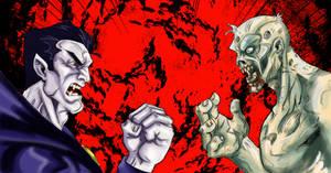 vampire vs zombie