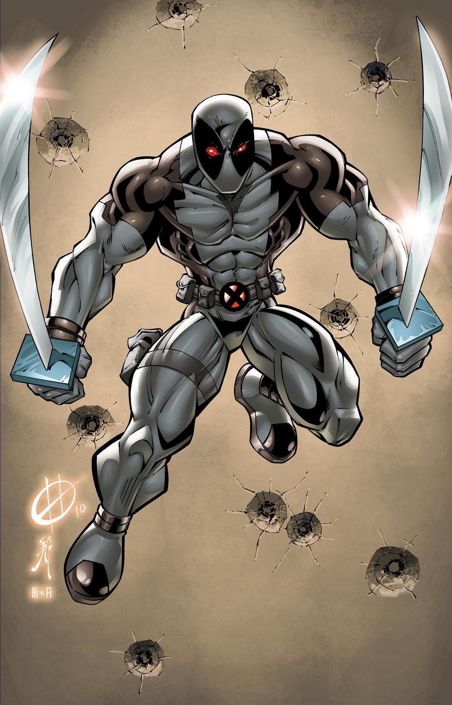 X Force Deadpool Premium Format Sidesho...