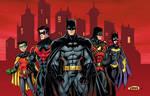 batman family colors