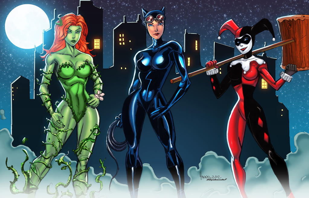 Gotham Girls by diecast75