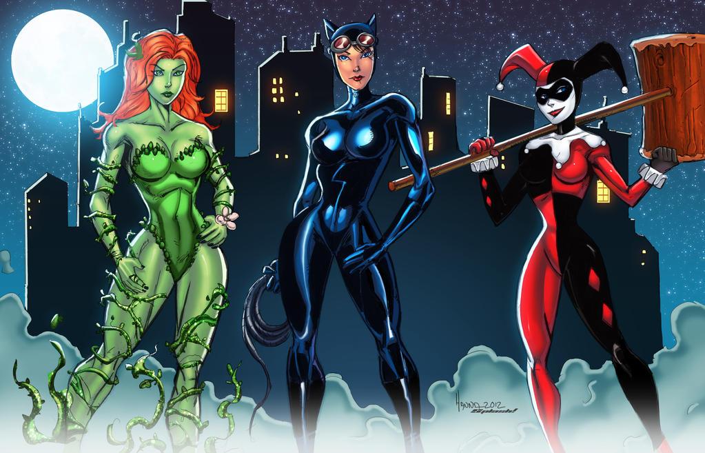 Gotham Girls by diecast75