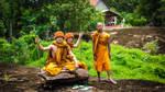 Northern Thailand Monks (Rural)