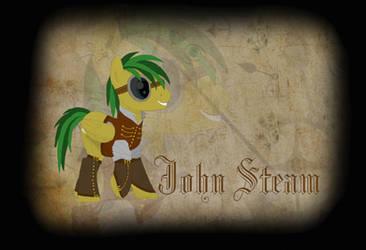 My OC: John Steam by BronyCars