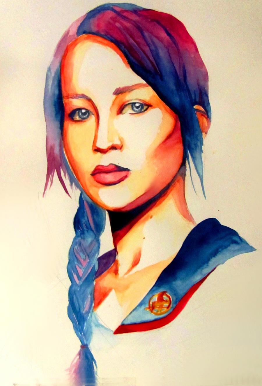 Katniss by Black-Cherry007