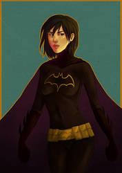 Cassandra Cain - Batgirl by Black-Cherry007