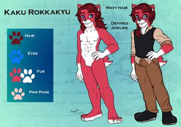 Kaku Reference by Morghiesart