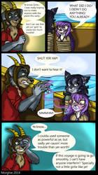 Sea Dog Shenanigans Ch2, pg 31 by Morghiesart
