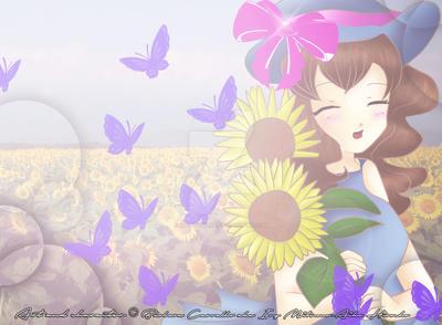 Sunflower Sada Namigari by Ivy-Mitsuno