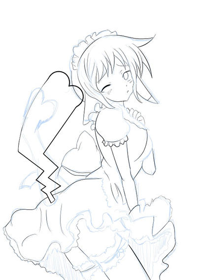 august Sketch For Patreon by Ivy-Mitsuno