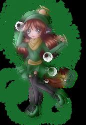 Winter Ivy-nyan