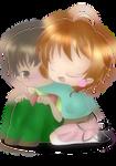 Happy birthday to Sakura and Syaoran by Ivy-Mitsuno
