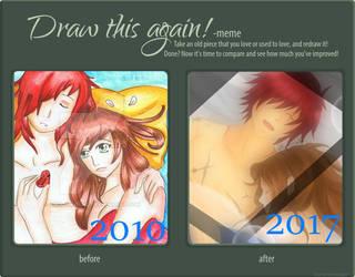 Draw this again Meme by Ivy-Mitsuno