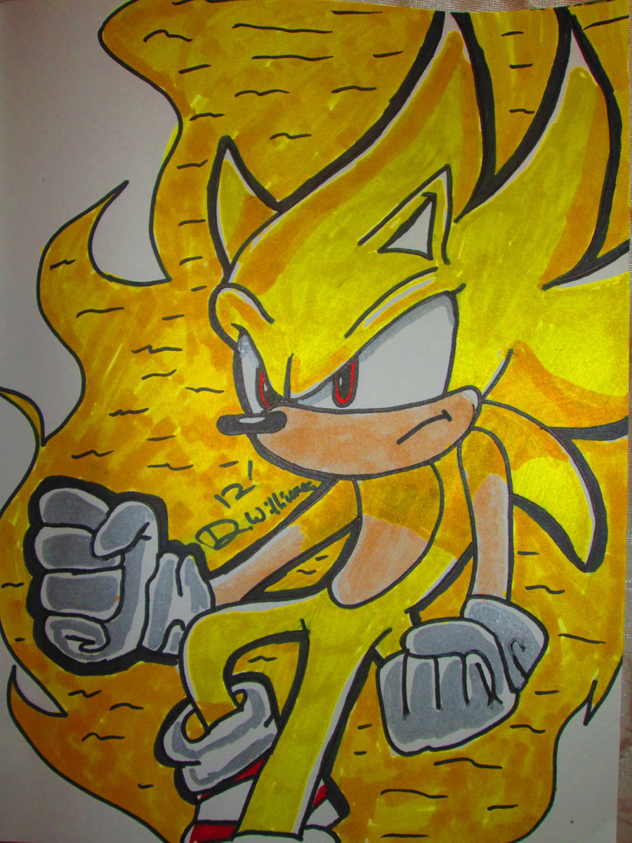 Super Sonic by IamJokerMan