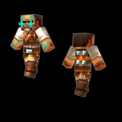 Starhawk Emmett Graves Minecraft Fan Skin by Tatonkus