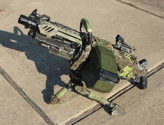 Nerf N-Strike Vulcan EBF-25 Gun mod finished by Tatonkus