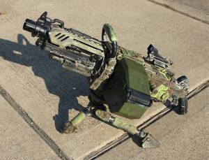 Nerf N-Strike Vulcan EBF-25 Gun mod finished