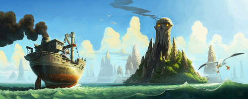 Skull Island by Tatonkus