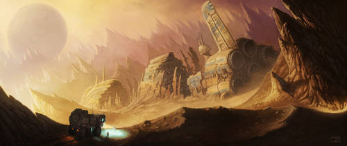 Space Wreck by Tatonkus