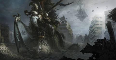 Demon Down by Tatonkus