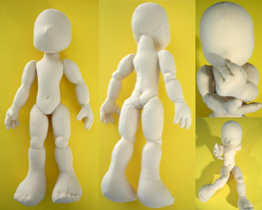 Nichi Mini Boy by plushabilities