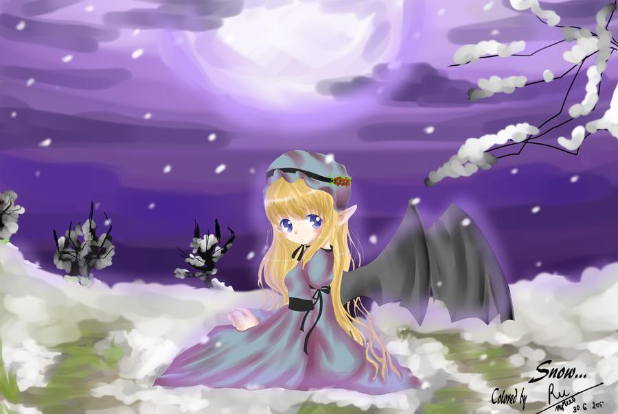 Snow angel by mangarulz96