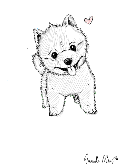 Cute dog drawings tumblr - photo#16