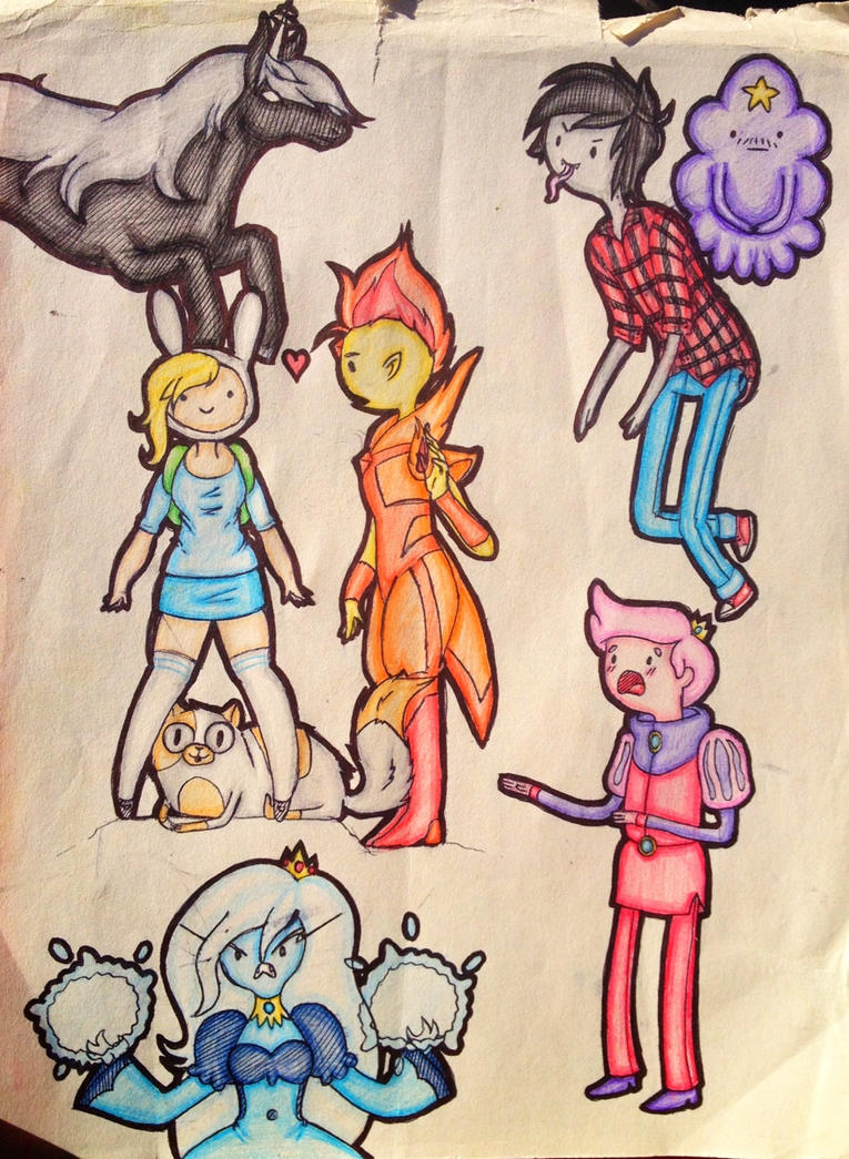 Adventure Time Gender Swapped Characters by Wolfgrl13