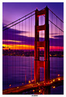 Golden Gate by Morning by TopherGentry