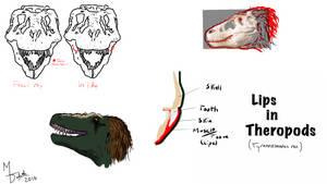 Tyrannosaurus rex Lips