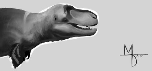 Tyrannosaurus Value Study