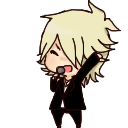 Hyde [VAMPS] - Shimeji // WITH DOWNLOAD by ParanoiaGod69