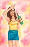 Eva von Drinky by planetesimal
